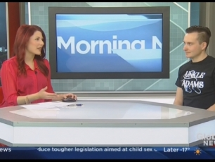 Unkle Adams on the Global Morning News