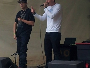 Summer Invasion Performance 2014 with The Journalist