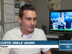Unkle Adams on CBC News Saskatchewan